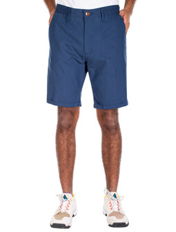 Golfer Chambray Short [steelblue]