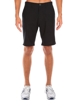 Golfer Chambray Short [uni black]