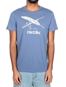 Harpoon Flag Tee [dusty blue]