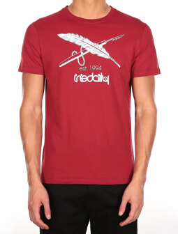 Harpoon Flag Tee [earth red]