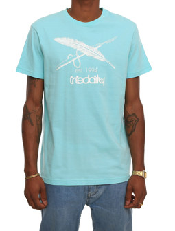 Harpoon Flag Tee [thaiti blue]