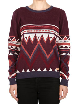 Hopi Knit [red wine]