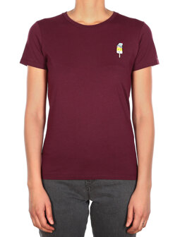 Ice Beanie Tee [red wine]