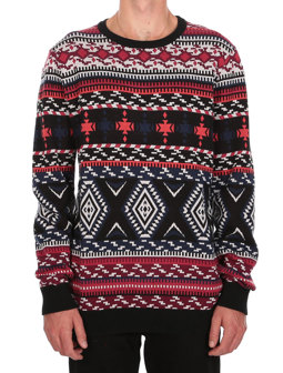 Indio Knit [black red]