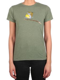 It Birdy Tee [l.olive mel.]