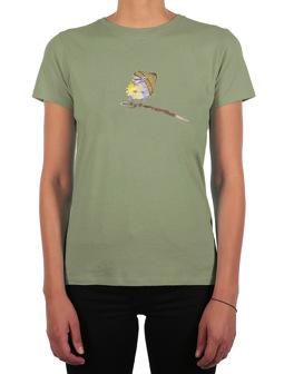 It Birdy Tee [light olive]