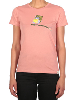 It Birdy Tee [peach pink]