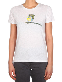 It Birdy Tee [white mel.]