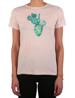 Kaktus Script Tee [rosa]