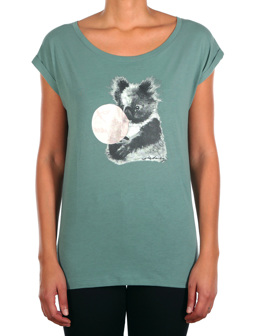 Koala Bubble Tee [dark beryl]