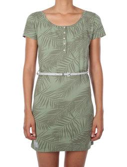 La Palma Dress [olive]