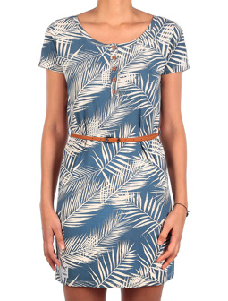 La Palma Dress [thunder blue]