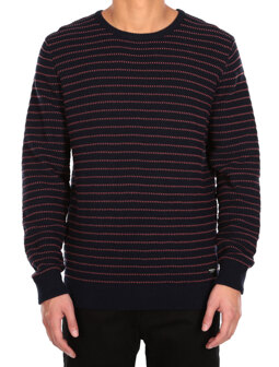 Liners Knit [navy red]
