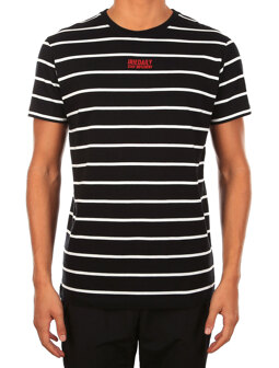 Lone Stripe Tee [black]