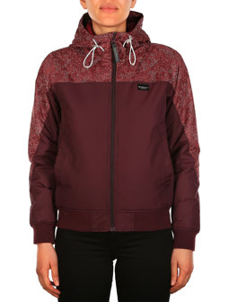 Marbled Spice Jacket [red wine]