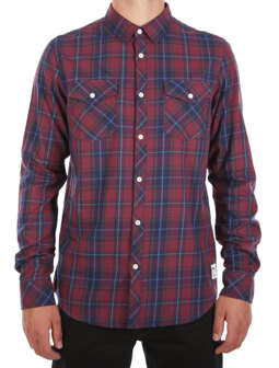 Mc Valle LS Shirt [navy red]