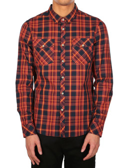 Mc Valle LS Shirt [rusty orange]