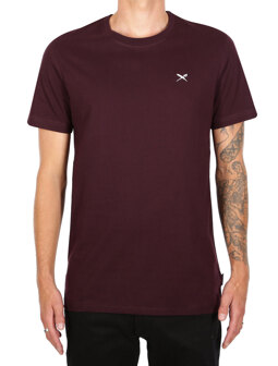 Mini Flag Emb Tee [aubergine]