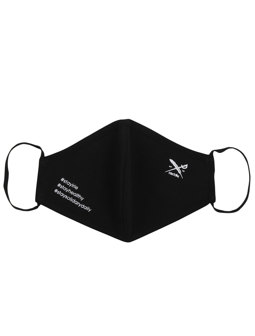 Mini Flag Mask [black]