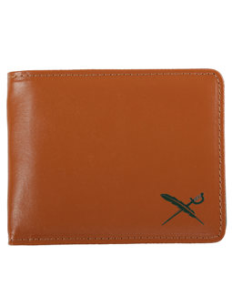 Mixed Flag Wallet [caramel]