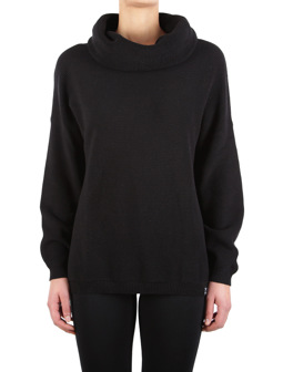 Mock Turtle Knit [black]