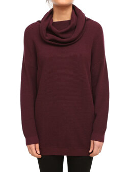 Mock Turtle Knit [maroon]
