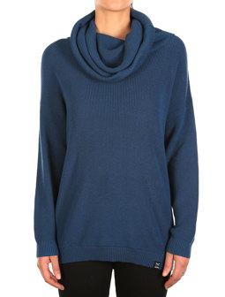Mock Turtle Knit [thunder blue]