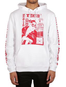 Not Tokyo Hoody [white]