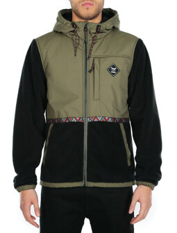 On Top Hood Jacket [olive]