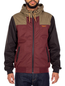Patcher Jacket [dark rum]