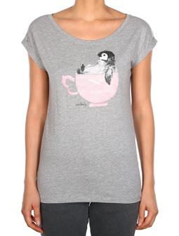 Pingulax Tee [grey-mel.]