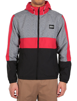 Prime Hood Jacket [black red]