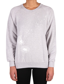 Pusteblume Sweat [light grey mel]