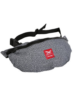 Rastron Hip Bag [grey red]