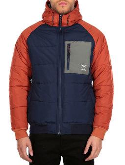 Restep Jacket [navy orange]