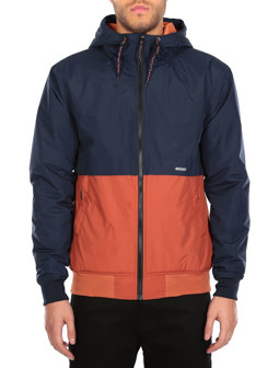 Rewind Jacket [navy orange]