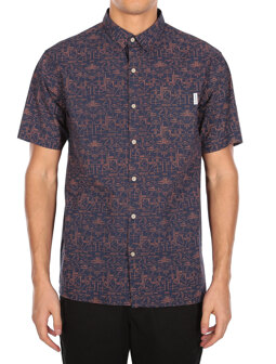 Sambasa SSL Shirt [navy]