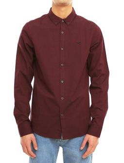 Samuel LS Shirt [maroon mel.]