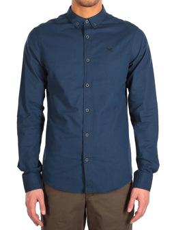 Samuel LS Shirt [steelblue]
