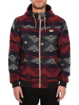 Santania Hood Jacket [bluegrey]