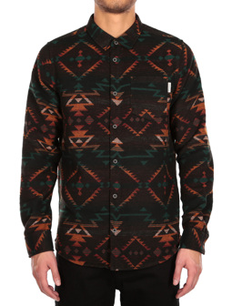 Santania Shirt [petrol red]