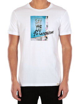 Say No Tee [white]