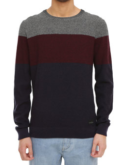 Seed Degrade Knit [navy red]