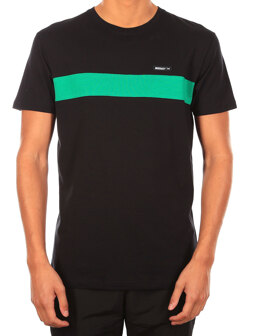 Simple Stripe Tee [black]
