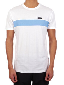 Simple Stripe Tee [white]