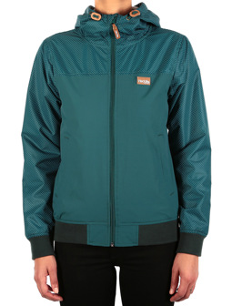 Spice Dot Jacket [dark teal]