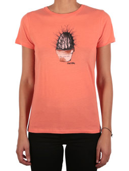 Spikey Tee [coral]