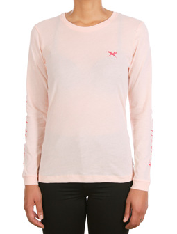 Stay Sleeve print LS [rose]