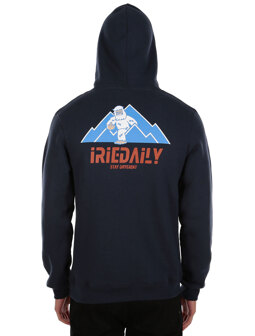 Stay Yeti 2 Hoodie [navy orange]