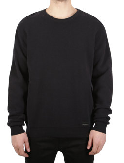Stripe Structure Knit [black]